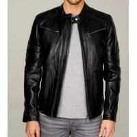 Dexter Classic Black Men's Leather Jacket