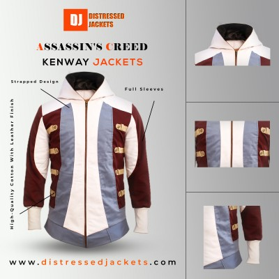 Assassin's Creed Black Flag Edward Kenway Jacket | Superhero Jackets