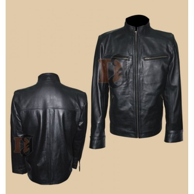 Fast and the Furious 6 Dominic Toretto Vin Diesel Leather Jacket