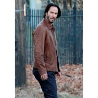 John Wick Distressed Brown Leather Jacket | Distressed Jackets