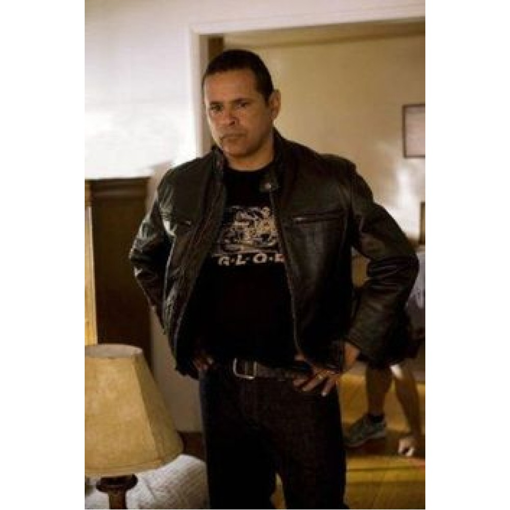 raymond cruz the curse of la llorona movie leather jacket