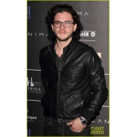 kit harington how to train your dragon movie leather jacket