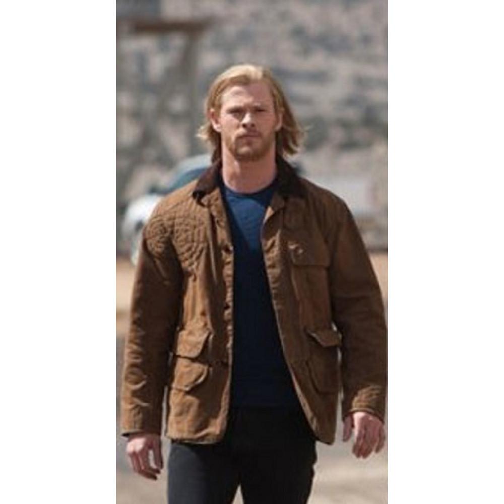 Chris Hems-worth Thor Cotton jacket