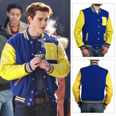 Riverdale Archie Varsity Jacket For Men's   Mens Varsity Jacket