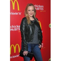 McLendon-Covey on Oscar Presenting Before Christmas Leather Jacket