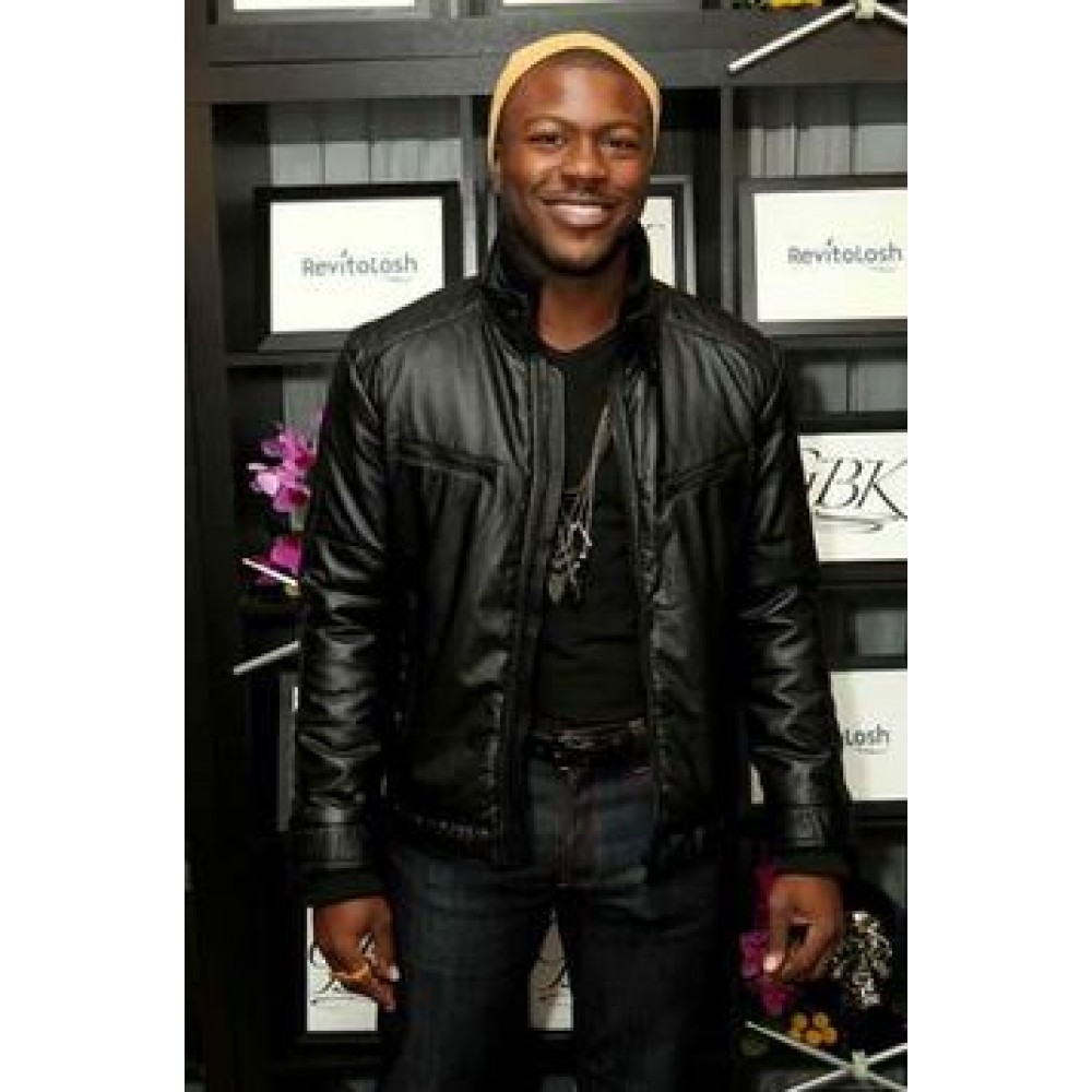 aldis hodge what men want movie leather jacket