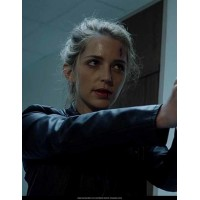Happy Death Day Black Leather Jackets wear by Jessica Rothe