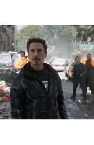 Avengers Infinity War Tony Stark Cotton Jacket