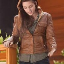 Women's Distressed Canvas Jackets With Leather Trim