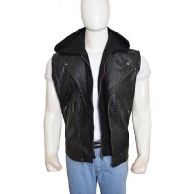 Aj Style (Allen Neal Jones) Vest Leather Vest | Black Leather Vest