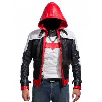 Batman Arkham Knight Game Red Hood Jacket | Games Costume jacket