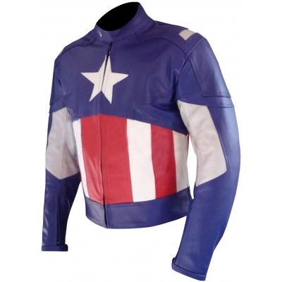 New Captian America Leather Jacket For Sale | Avengers Jackets