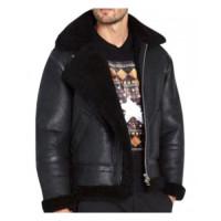 Black Leather Jacket For Men For Sale | Men's Fashion