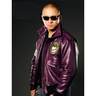 The Dark Knight - Joker Goon Leather Jacket | Joker jacket Style