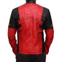 Deadpool Leather Jacket For Mens | Leather Jacket For Men's