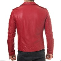 MOZRI Men's Leather Jacket
