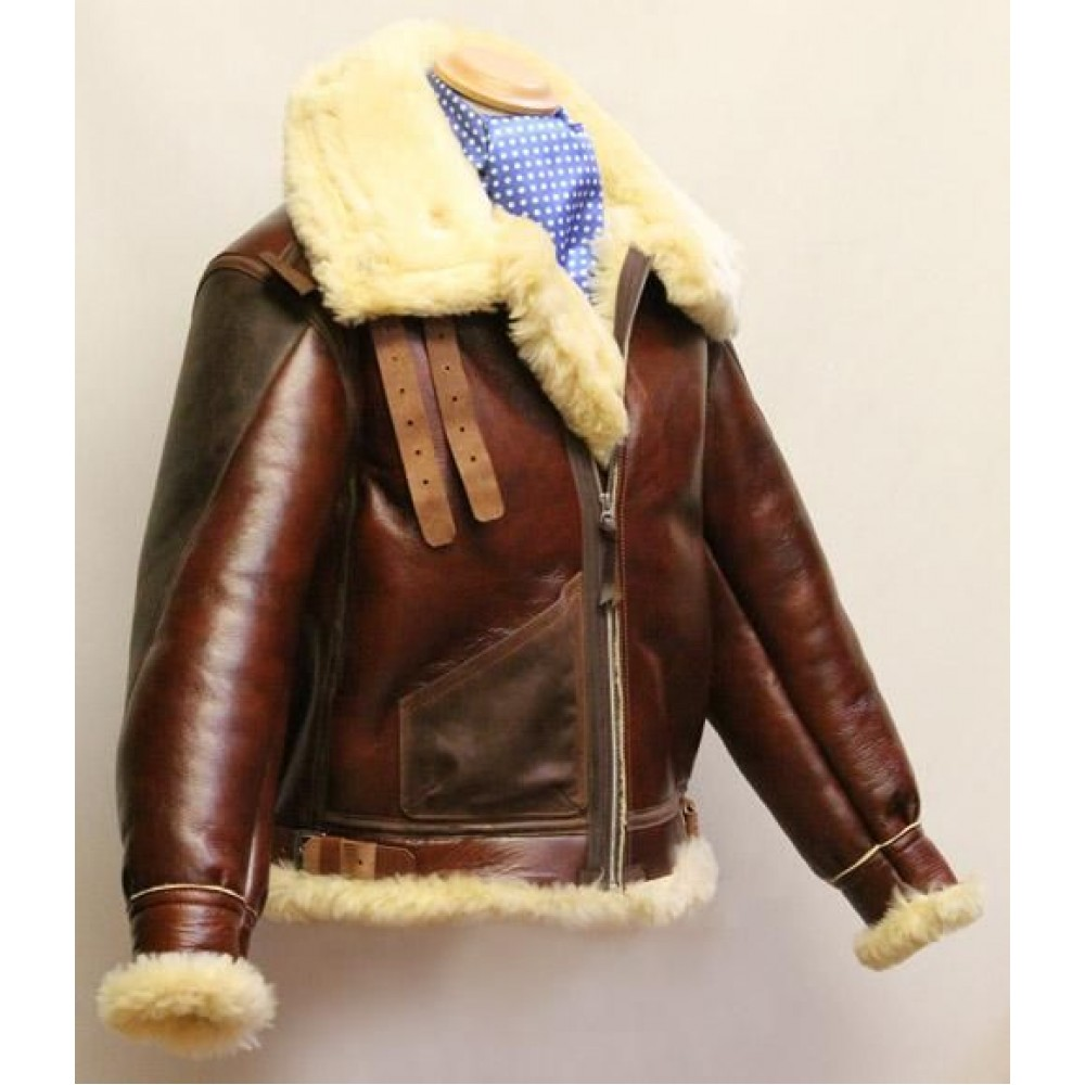 B-3 Bomber leather Jacket
