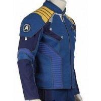 CHRIS PINE STAR TREK BEYOND LEATHER JACKET | Costumes Leather Jackets