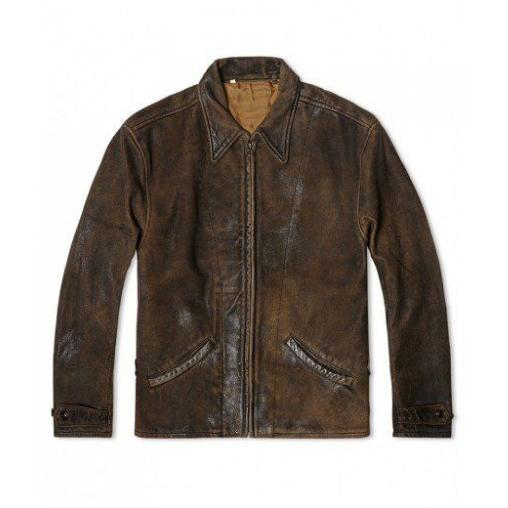 James Bond Skyfall Leather jacket | distressed Brown jackets
