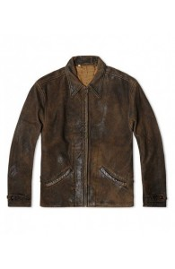 Skyfall Leather jacket | distressed Brown jackets
