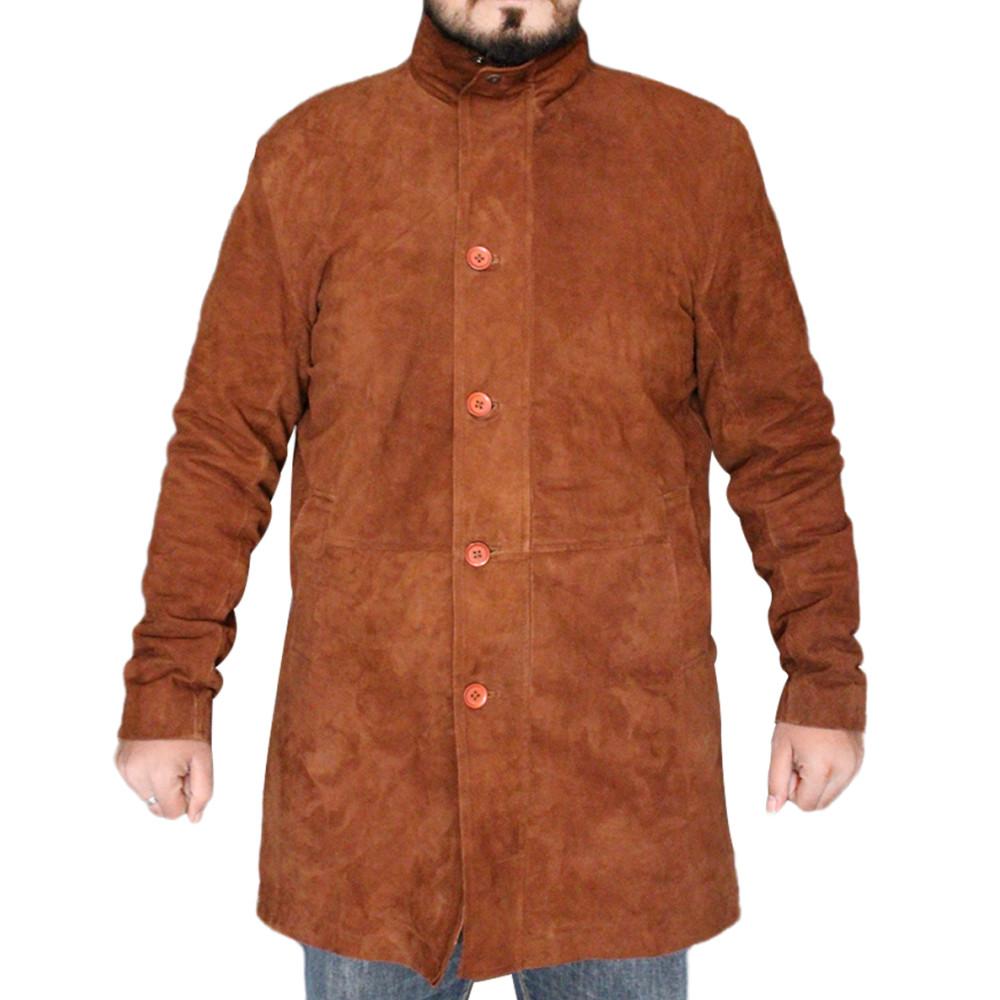 New Arrival Robert Sheriff Longmire Leather Coat |  Longmire Coat