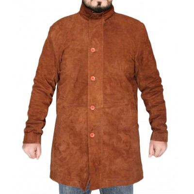 New Arrival Robert Sheriff Longmire Leather Coat |  Longmire Coat