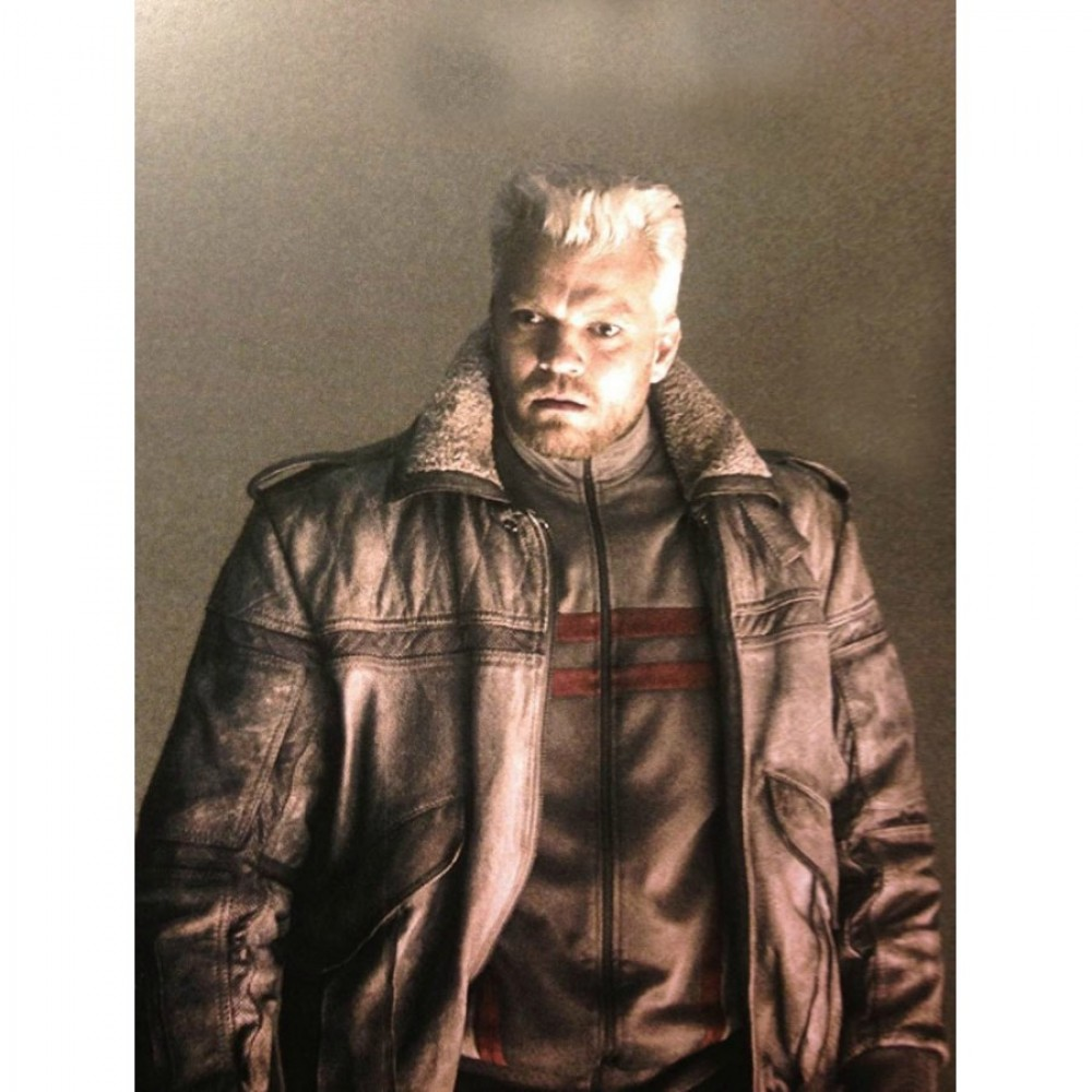 Buy Batou Ghost In The Shell Leather Jacket