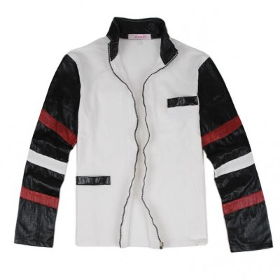Bruce Lee White Casual Leather Jacket | Celeb Leather Jacket