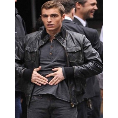 Dave Franco Now You See Me 2 Leather Jacket | Black Leather Jackets