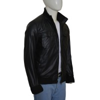 Dave Franco Now You See Me 2 Leather Jacket   Black Leather Jackets