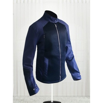 Captain America Steve Rogers Blue Jacket |  Blue Stylish Jackets