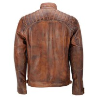 Biker Vintage Motorcycle Leather Jackets For Sale