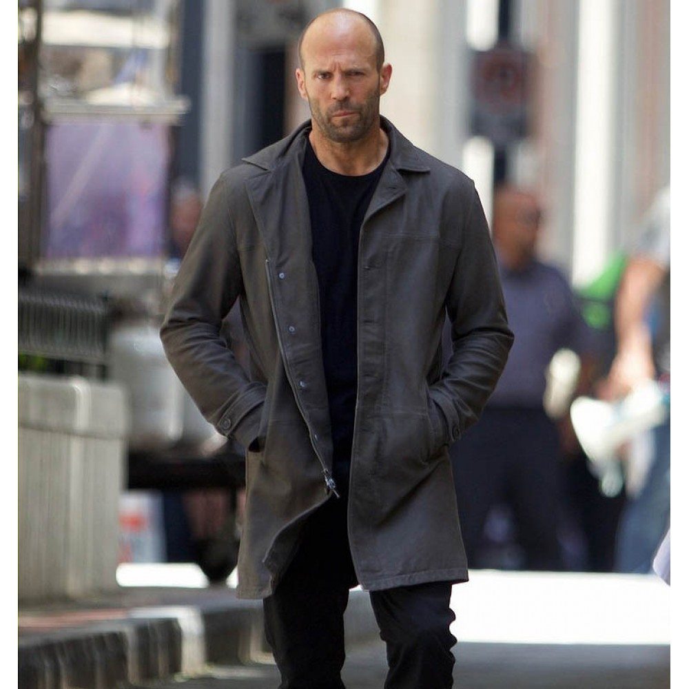 Deckard Shaw Fast 8 Jason Statham Coat | Distressed Coats