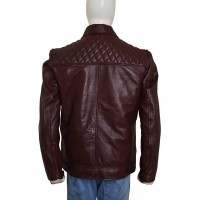 Edge Returns WWE SmackDown Maroon Jacket | Mens Leather Jacket