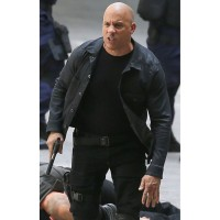 Fast 8 Dominic Toretto Vin Diesel jacket | Black Leather jackets