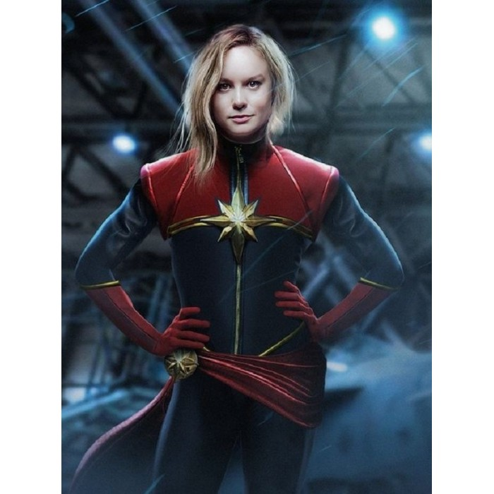 Buy Fictional Movie Captain Marvel Carol Danvers Costume Leather Jacket in stock new the dark knight rises batman cosplay costume (no boots&mask). usd