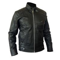 Bourne Legacy Jeremy Renner's Black Men's Genuine Leather Jacket For Sale |  Motorcycle Jacket