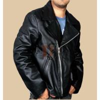 Nicolas Cage Ghost RIder Black Biker Jacket | Black Jackets