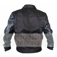 Black Mens Leather Jacket For Sale