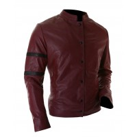 Hot Sale | Red Leather Jacket For Men's For Sale