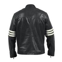 Black Logans Leather Jacket For Sale | Men's Jacket