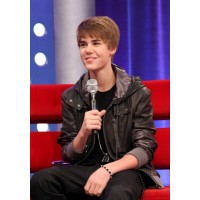 JUSTIN BIEBER CASUAL LEATHER JACKET | Celeb Black Jackets