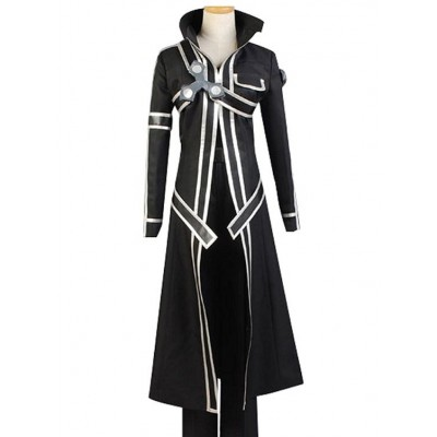 Kirito Sword Cosplay Trench Coat | Black Stylish Coat