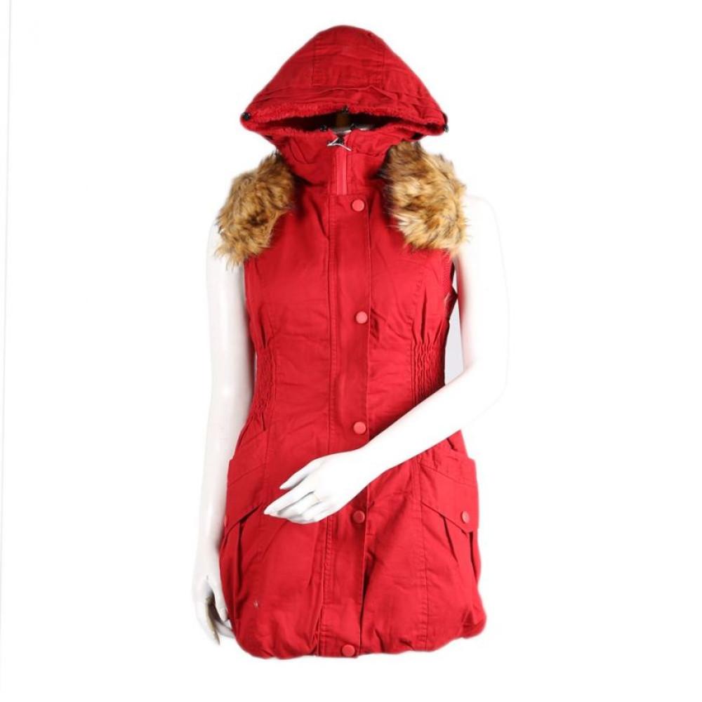 Ladies Hooded Jacket For Womens | Ladies Red Hoodie Jacket
