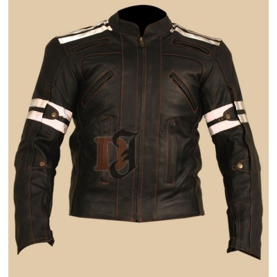 Mens Street Motorcycle Leather Jacket | Stylish Jackets