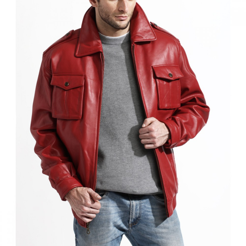 Free shipping and returns on Men's Leather (Genuine) Coats & Jackets at report2day.ml