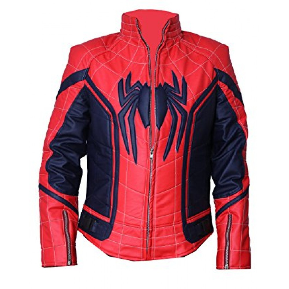 New Spiderman Leather Jacket | Super Hero Leather Jackets