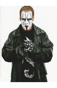 Popular Wrestler Sting Returns Black Leather Coat | Mens Leather Coat