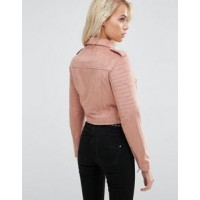 Suede Biker Jacket For women | Women Stylish Jackets