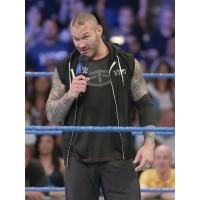 WWE Randy Orton Rko Black Hoodie Vest Leather jackets